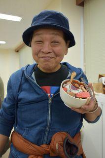 栩野さん&残飯ぞうすいの模型.JPG